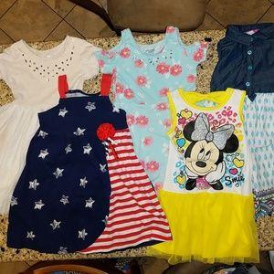 Other - BUNDLED toddler girl summer dresses. 4/4T